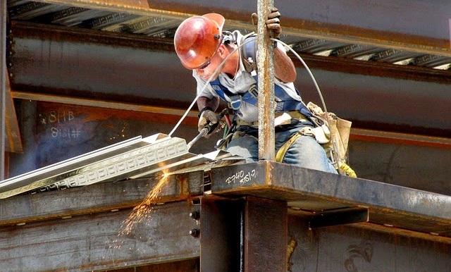 Estructuras metálicas soldador